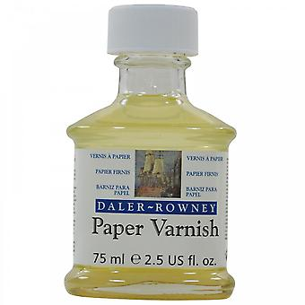 Daler Rowney Paper Varnish 75ml