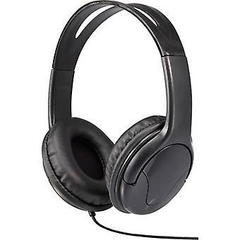 Renkforce HP-960S Headphones On-ear Black