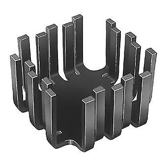 Heat sink (rods) 6 C/W (L x W x H) 45 x 45 x 25.4 mm TO 3, TO 55, SOT 9, SOT 32, TO 220 Fischer Elektronik FK 201 SA-CB