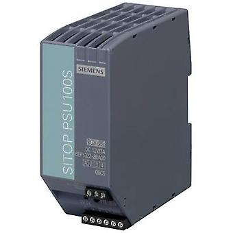 シーメンス SITOP PSU100S 12 V/7 A レール マウント 80 W の電源ユニット (DIN) 12 Vdc 7 × 1