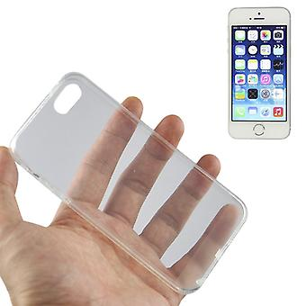 Apple iPhone 5 / 5s transparent case cover silicone