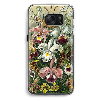 Samsung Galaxy S7 Transparent Case (Soft) - Haeckel Orchidae
