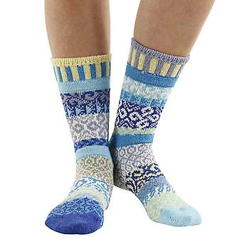 Air recycled cotton multicoloured odd-socks   Crafted by Solmate