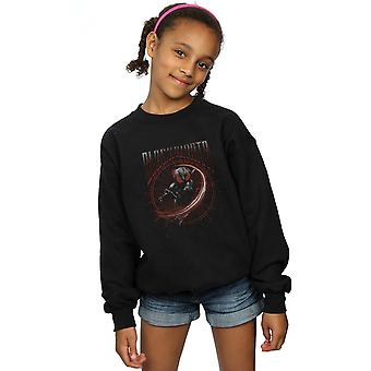 DC Comics Girls Aquaman Black Manta Circle Sweatshirt