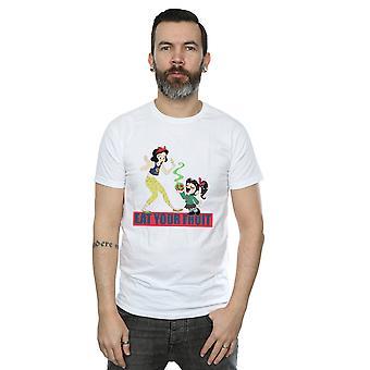 Disney Men's Wreck It Ralph Eat Your Fruit T-Shirt
