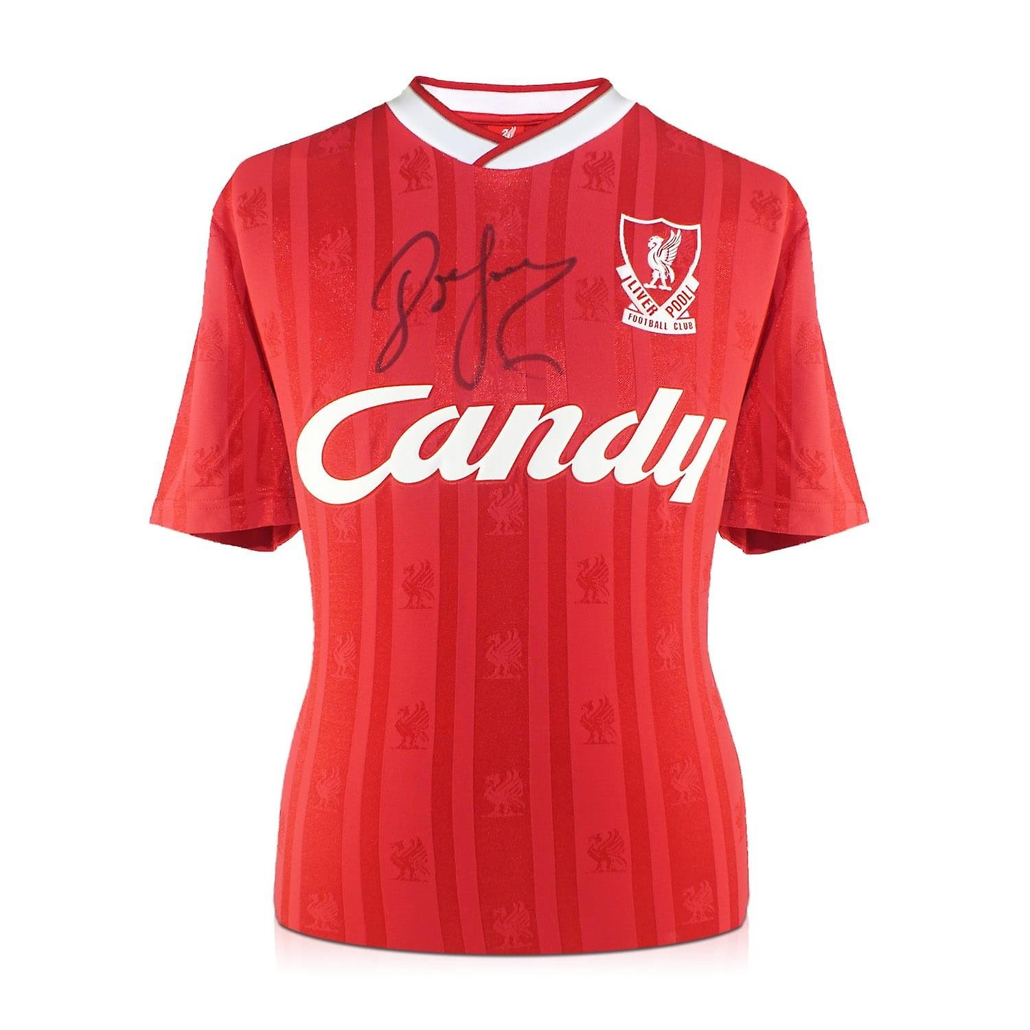 John Barnes Signed 1988-89 Liverpool Home Shirt