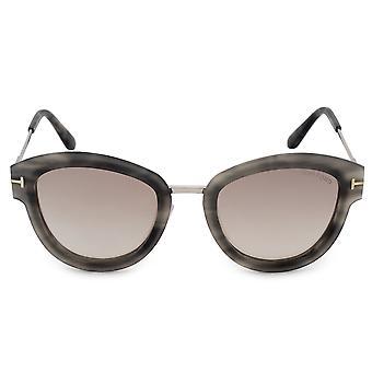 Tom Ford Mia Round Sunglasses FT0574 55G 52