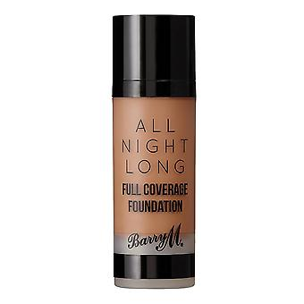 Barry M All Night Long Full Coverage Foundation - Waffle