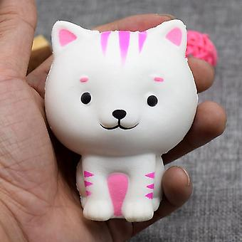 8.5 CM Kawaii Cat Pandey Squishy toys Slow Rising Soft Squeeze Animal Bread anti-stress Scented Charms Kids toys relieves Stress