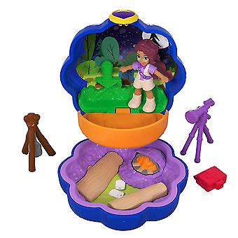 Polly Pocket FWN40 Tiny Places Camping Compact Play Set