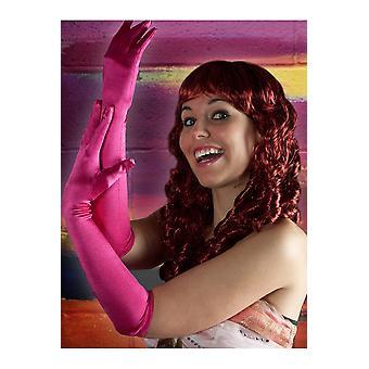 Gloves  Long gloves fuchsia