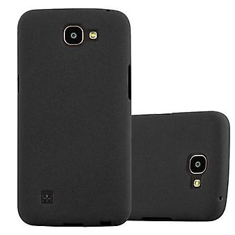 Cadorabo case for LG K4 2016 - mobile cover from TPU silicone mats frosted design - silicone case cover ultra slim soft back cover case bumper