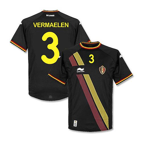2014-15 Belgium World Cup Away Shirt (Vermaelen 3) - Kids