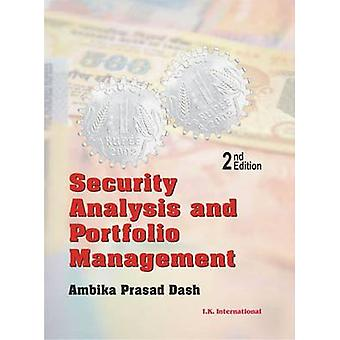 Security Analysis and Portfolio Management (2nd Revised edition) by A