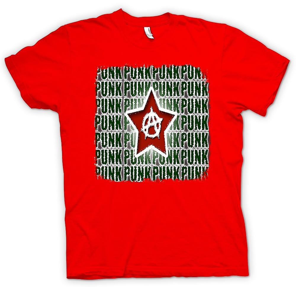 Mens t-shirt - anarchia Punk Rock - Design