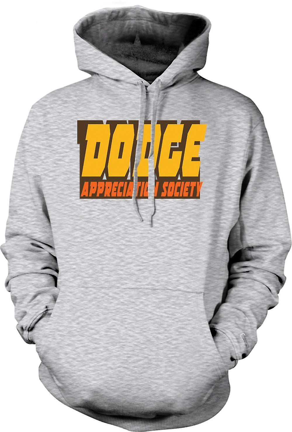 Mens Hoodie - Dodge Appreciation Society