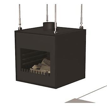 Burni Thor tuinhaard cortenstaal 55x50x55 cm - zwart