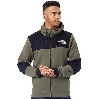 The North Face New Taupe Green Himalayan Zip Hoody