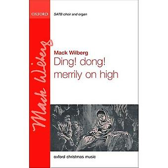 Ding! Dong! fröhlich in die Höhe: SATB vocal score (Orgelfassung)