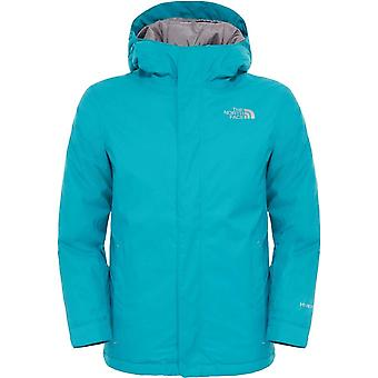 North Face Youth Snowquest Jacket - Kokomo Green