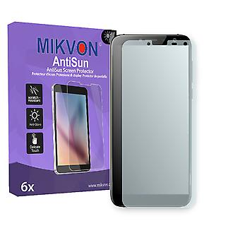 Zopo Flash X1  Screen Protector - Mikvon AntiSun (Retail Package with accessories) (reduced foil)