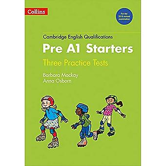 Practice Tests for Pre A1 Starters (Cambridge English Qualifications) (Cambridge English Qualifications)