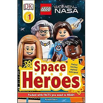 DK lukijat L1: Lego(r) naisten NASA: tilaa Heroes (DK lukijat)