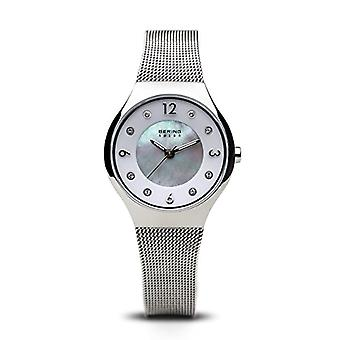 BERING Solar Analog Woman with stainless steel strap 14427-004