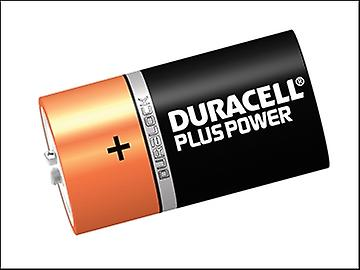 Duracell D Cell Plus Power Batteries Pack of 6 LR20/HP2