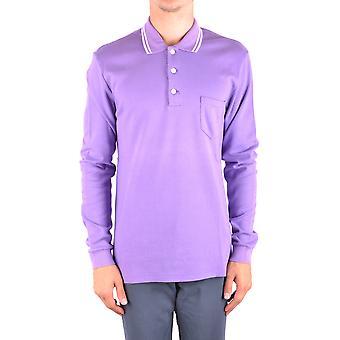 Marc Jacobs Purple Cotton Polo Shirt