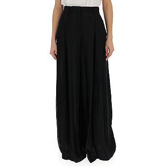 Off-white Black Polyester Skirt