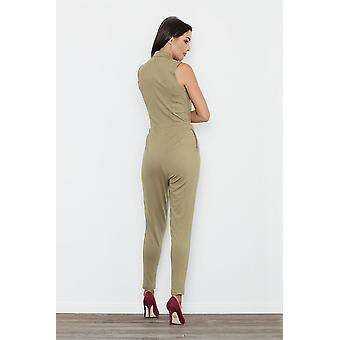 FIGL women's jumpsuits overall Green
