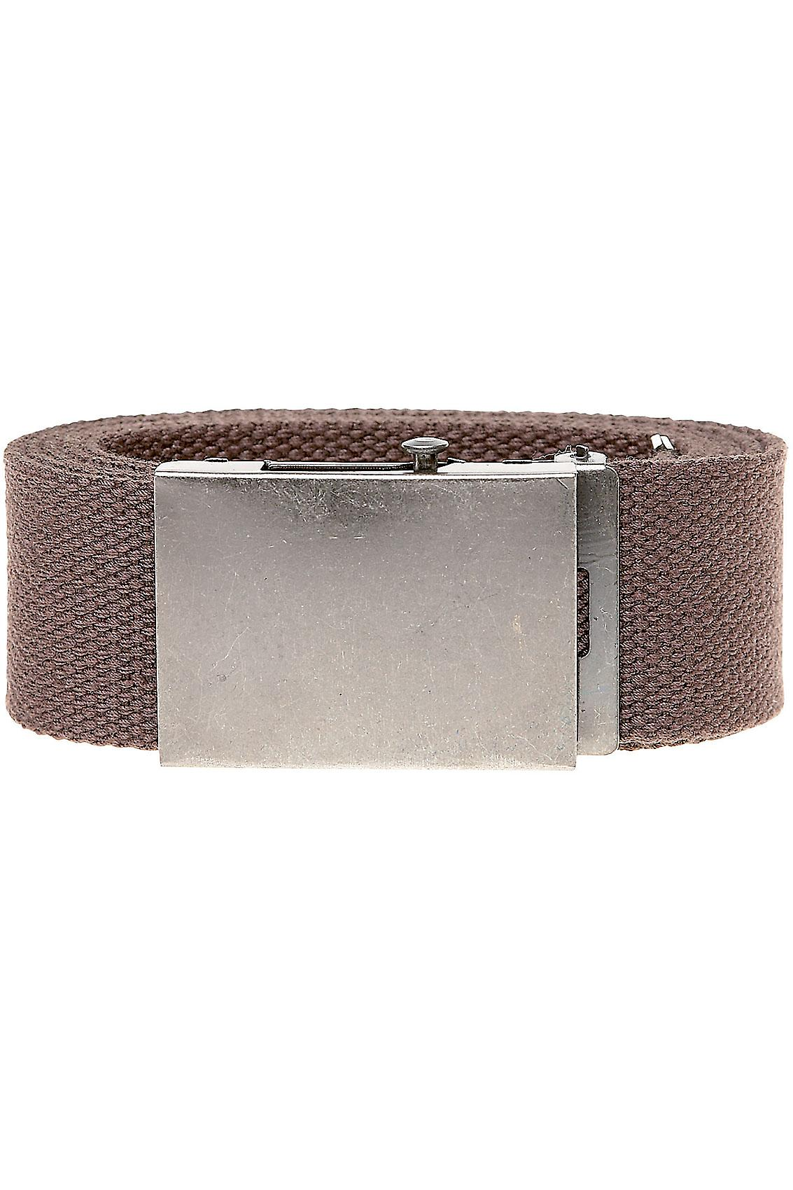 D555 King Size Brown Webbing Belt