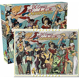 DC Comics Bombshells 1000 piece jigsaw puzzle  690mm x 510mm   (nm)