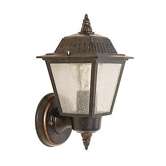 Elstead - 1 Light Wall Lantern - Bronze Finish - GZH/HN1