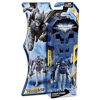 The Dark Knight Rises Deluxe Quicktek Figure - Flight Strike