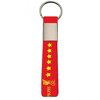 Liverpool F.C. Champions Of Europe Silicone Keyring