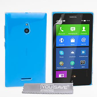 YouSave Accessories Nokia XL Hard Case Crystal Clear