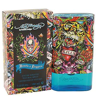 Ed Hardy Hearts & Daggers Eau de toilette spray af Christian Audigier 100 ml