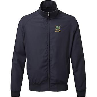 Royal Scots Dragoon Guards - Licensed British Army Embroidered Harrington Jacket