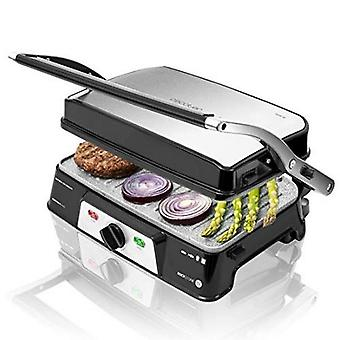 Contact Grill Cecotec rock'n Grill 1500 take & clean 1500W black silver