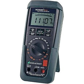 Handheld multimeter digital Gossen Metrawatt METRAHIT X-TRA Calibrated to: DAkkS standards CAT III 1000 V, CAT IV 600 V