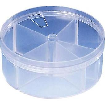 Assortment tin Strapubox RD 4 No. of compartments: 5 fixed compartments