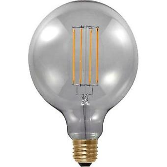 LED E27 Globe 6 W = 25 W Grey (Ø x L) 125 mm x 180 mm EEC: A Segula dimmable, Filament 1 pc(s)