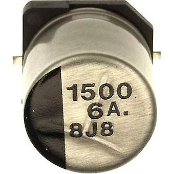 Electrolytic capacitor SMD 1500 µF 6.3 V