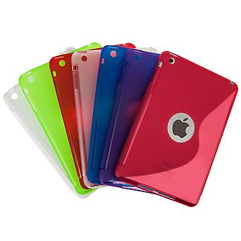 Caseflex Apple iPad Mini 2, 3 SLine Gel Case Red