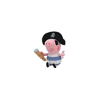 Ty Beanie Babies Pig George Pirate Knuffel 15cm