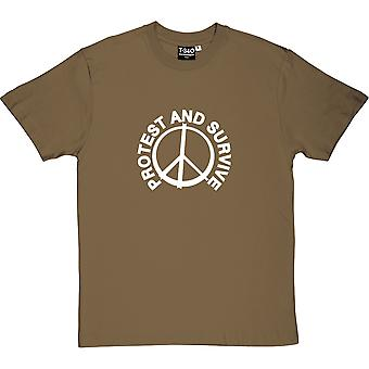 Protest And Survive Men's T-Shirt