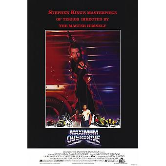 Maximum Overdrive Movie Poster (11 x 17)