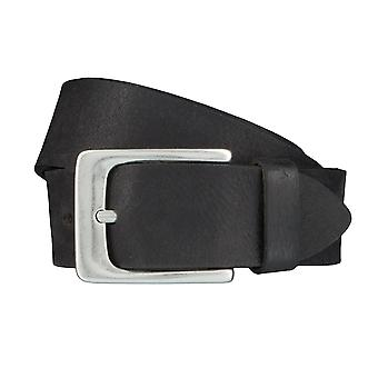BERND GÖTZ belts men's belts leather belt black 4015